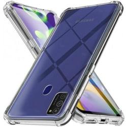Samsung A21s Stötdämpande Silikon Skal Shockr® Transparent