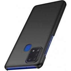 Samsung A21s Ultratunn Gummibelagd Mattsvart Skal Basic® V2 Svart