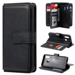Samsung A40 Praktisk Plånboksfodral med 11-Fack Array® V2 Black