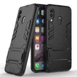 Samsung A40 Stöttåligt Skal med Kickstand ThinArmor® (SM-A405FN) Svart