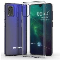 Samsung A41 Stötdämpande mjukt fodral Simple® Transparent
