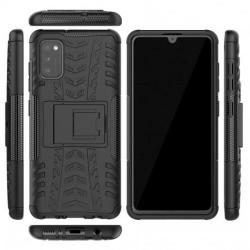 Samsung A41 Stöttåligt Skal med Stöd Active® Svart