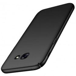 Samsung A5 2017 Ultratunn Gummibelagd Mattsvart Skal Basic® V2 Black