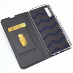 Samsung A50 Flipfodral Smooth® Kortfack (SM-A505FN/DS) Black