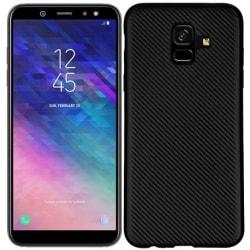 Samsung A6 2018 Stöttåligt Skal FullCarbon® V2 Svart