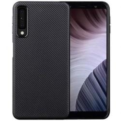 Samsung A7 2018 Stöttåligt Skal FullCarbon® V2 Svart