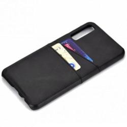 Samsung A70 Stötdämpande Korthållare Retro® Black