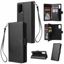 Samsung A71 Praktisk Plånboksfodral med 10-Fack Array® Black