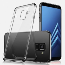 Samsung A8 2018 Stötdämpande Gummiskal (SM-A530F) Svart