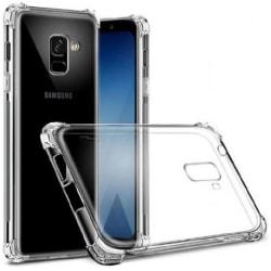 Samsung A8 2018 Stötdämpande Silikon Skal Shockr® Transparent