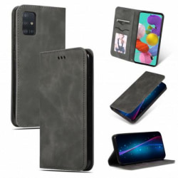 Samsung Galaxy A51 Flipfodral Kortfack Mocka® Black