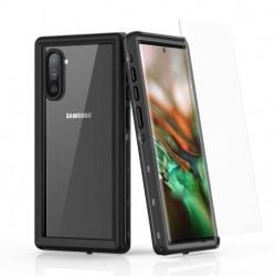 Samsung Note 10 Heltäckande Vattentät Premium Skal - 2m Transparent
