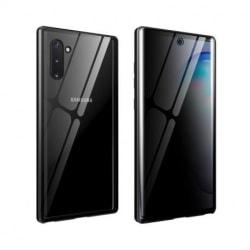 Samsung Note 10 Privacy Heltäckande Premium Skal Glassback® V4 Transparent