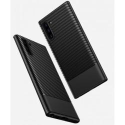 Samsung Note 10 Stöttåligt Skal FullCarbon® Svart