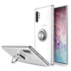 Samsung Note 10 Stöttåligt Skal med Ringhållare Fresh® Transparent