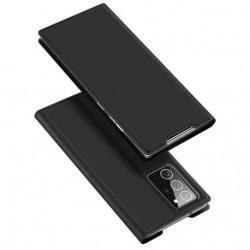 Samsung Note 20 Flipfodral Smooth® Kortfack Svart