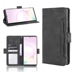 Samsung Note 20 Plånboksfodral PU-Läder 6-FACK Winston® V3 Svart