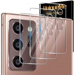 Samsung Note 20 Ultra Kamera Linsskydd Flexibelt Glas Transparent