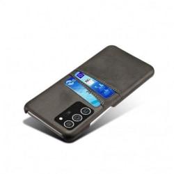 Samsung Note 20 Ultra Stötdämpande Korthållare Retro® V2 Svart