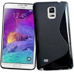 Samsung Note 4 Ultratunn Stötdämpande Skal S-Line® Svart
