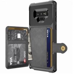 Samsung Note 9 Stöttåligt Premium Skal 4-FACK Solid® V3 Svart