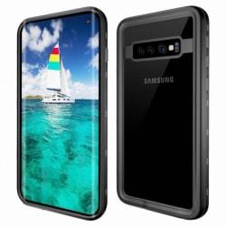 Samsung S10 Heltäckande Vattentät Premium Skal - 3m Transparent