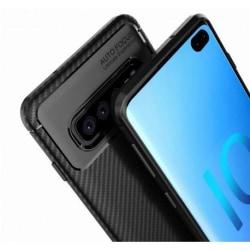 Samsung S10 Plus Stöttåligt Skal FullCarbon® V4 (SM-G975F) Svart