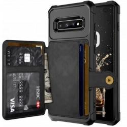 Samsung S10 Stöttåligt Premium Skal 4-FACK Solid® V3 Svart