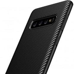 Samsung S10 Stöttåligt Skal FullCarbon® (SM-G973F) Svart