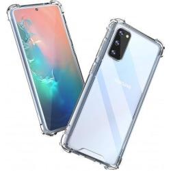 Samsung S20 FE Stötdämpande Silikon Skal Shockr® Transparent