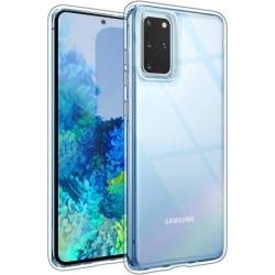 Samsung S20 Plus Stötdämpande Silikon Skal Simple® Transparent