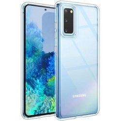 Samsung S20 Stötdämpande Silikon Skal Simple® Transparent