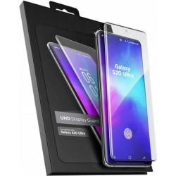 Samsung S20 Ultra FullFrame® 3D 0.26mm 9H Härdat Glas Transparent