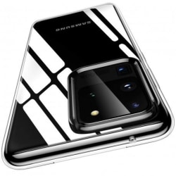 Samsung S20 Ultra Stötdämpande Silikon Skal Simple® Transparent