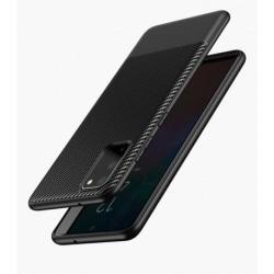 Samsung S20 Ultra Stöttåligt Mobilskal FullCarbon® Svart