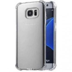 Samsung S7 Stötdämpande Silikon Skal Shockr® Transparent