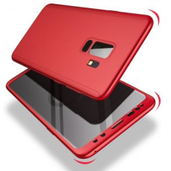 Samsung S8 Plus | 360° 3in1 FullCover Skal inkl. Skärmskydd Svart