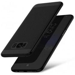 Samsung S8 Plus Stötdämpande Ultratunn Gummibelagd Skal Breeze® Svart