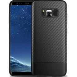Samsung S8 Stöttåligt Skal FullCarbon® Svart