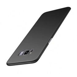 Samsung S8 Ultratunn Gummibelagd Mattsvart Skal Basic® V2 Svart