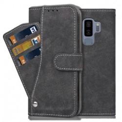 Samsung S9 Plus Praktisk Plånboksfodral med 7-FACK Pharah® Black