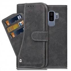 Samsung S9 Plus Praktisk Plånboksfodral med 7-FACK Pharah® Svart