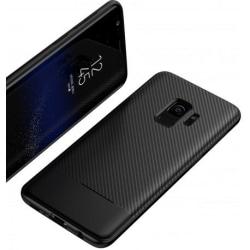 Samsung S9 Plus Stöttåligt Skal FullCarbon® Svart