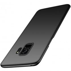 Samsung S9 Plus Ultratunn Gummibelagd Mattsvart Skal Basic® V2 Black