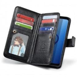 Samsung S9 Praktiskt Plånboksfodral 2in1 med 11-Fack Loop® Svart