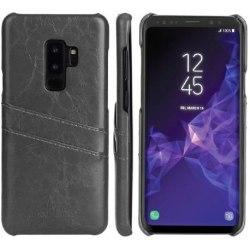 Samsung S9 Stötdämpande Korthållare Retro® Svart