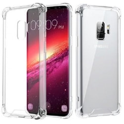 Samsung S9 Stötdämpande Silikon Skal Shockr® Transparent