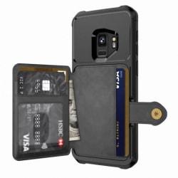Samsung S9 Stöttåligt Premium Skal 4-FACK Solid® V3 Svart
