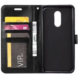 Sony Xperia 1 Plånboksfodral PU-Läder 4-FACK Black