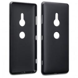 Sony Xperia XZ3 Ultratunn Gummibelagd Mattsvart Skal Svart